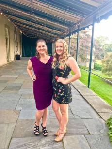 Me and my sister Tiffany at our cousin's wedding